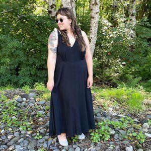 NWT Betsey Johnson Vintage Style Black Dress - 18W